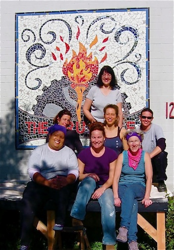 Mural Making Class of 2004