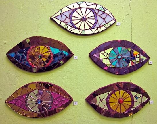 Mosaic Eyes by Laurel True