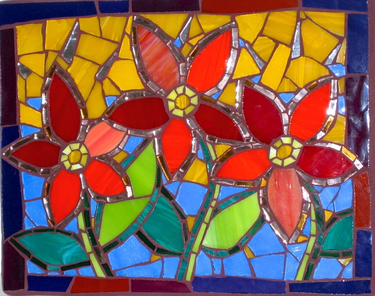 Intermediate Glass Mosaics - Student work