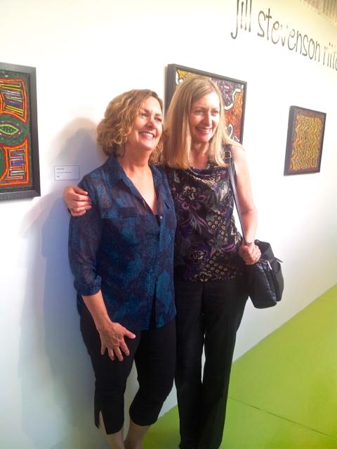 Jill (left) and her sister Lisa