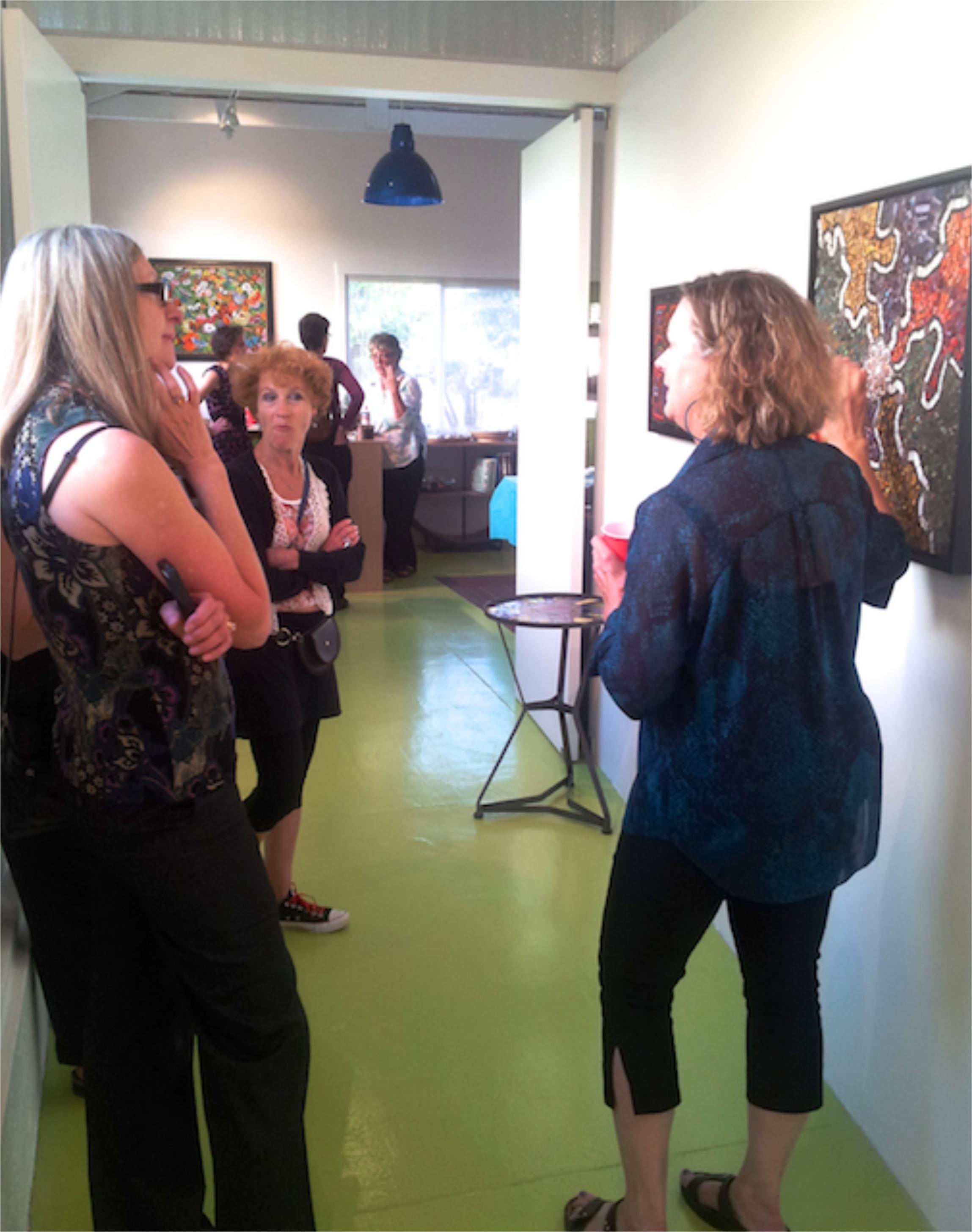 Jill shares about her artwork