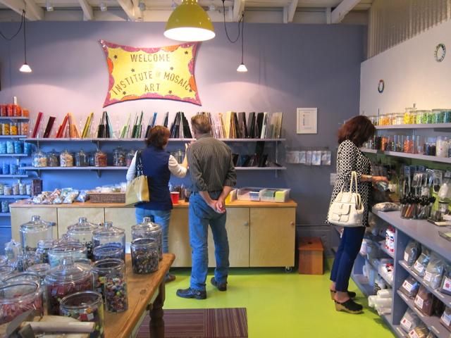 Institute of Mosaic Art supply store