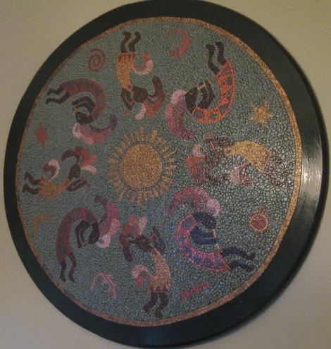 Eggshells? For Mosaics? The Art and Craft of Linda Biggers