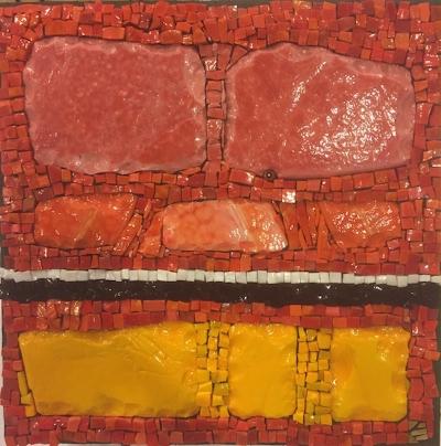 """""""Rothko in Smalti #2"""" by Kim Emerson"""
