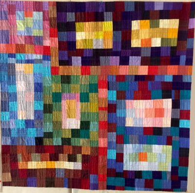 Color Block #1 - Quilt by Deborah Block