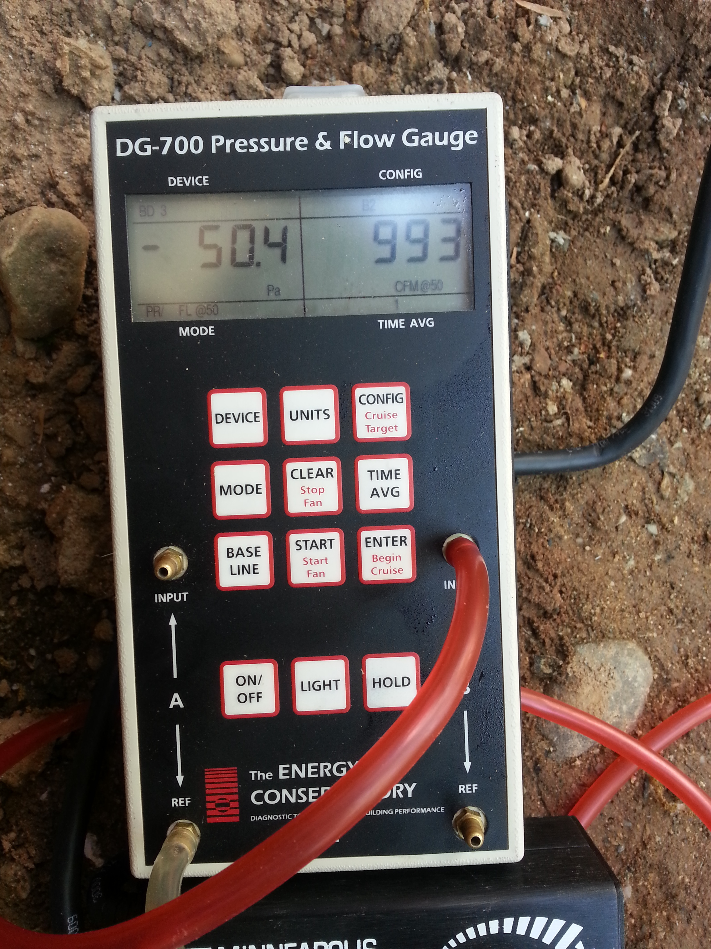 Blower Door Testing by Groundswell Contracting