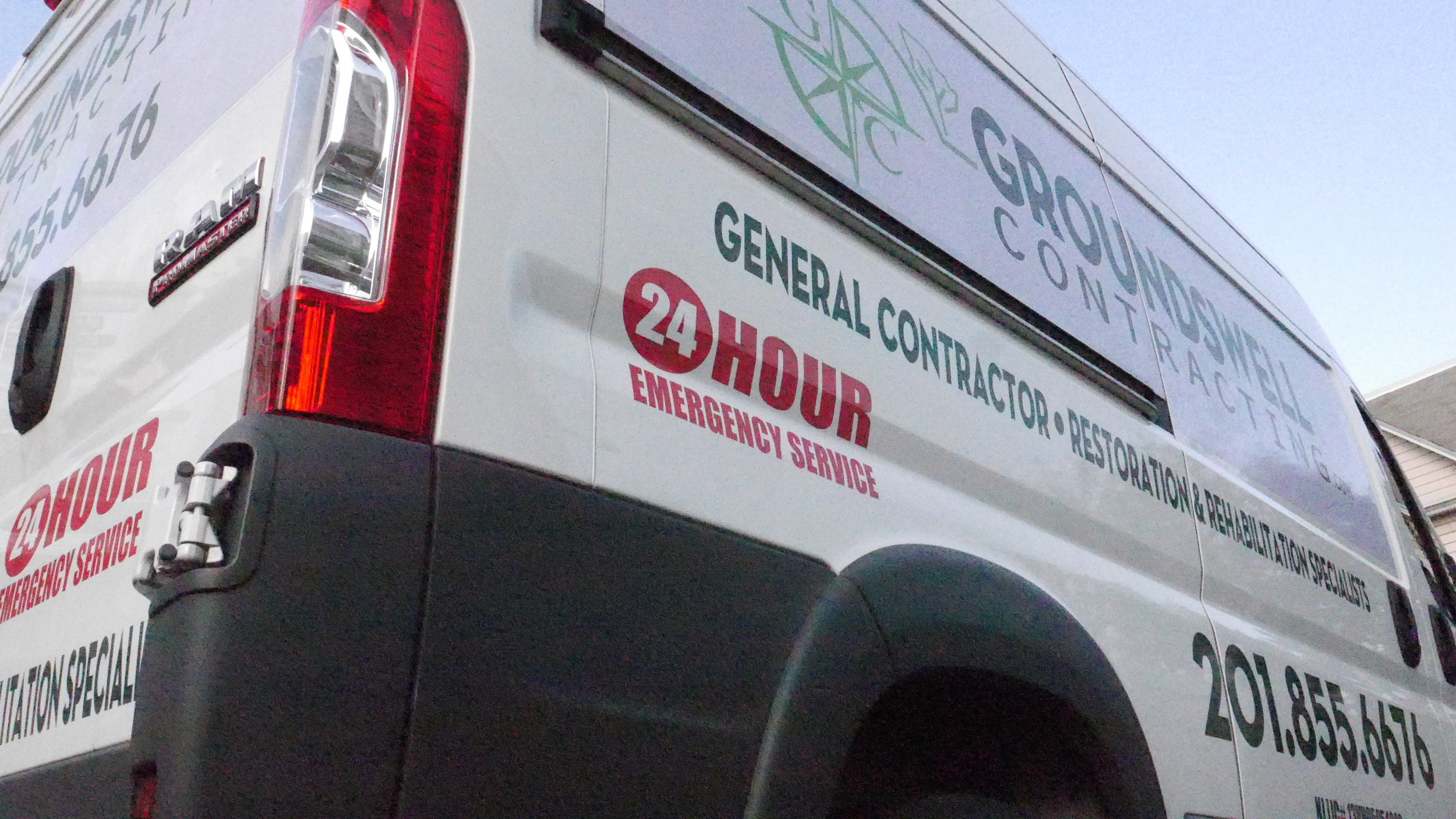 24-hour Emergency Service provided by Groundswell Contracting