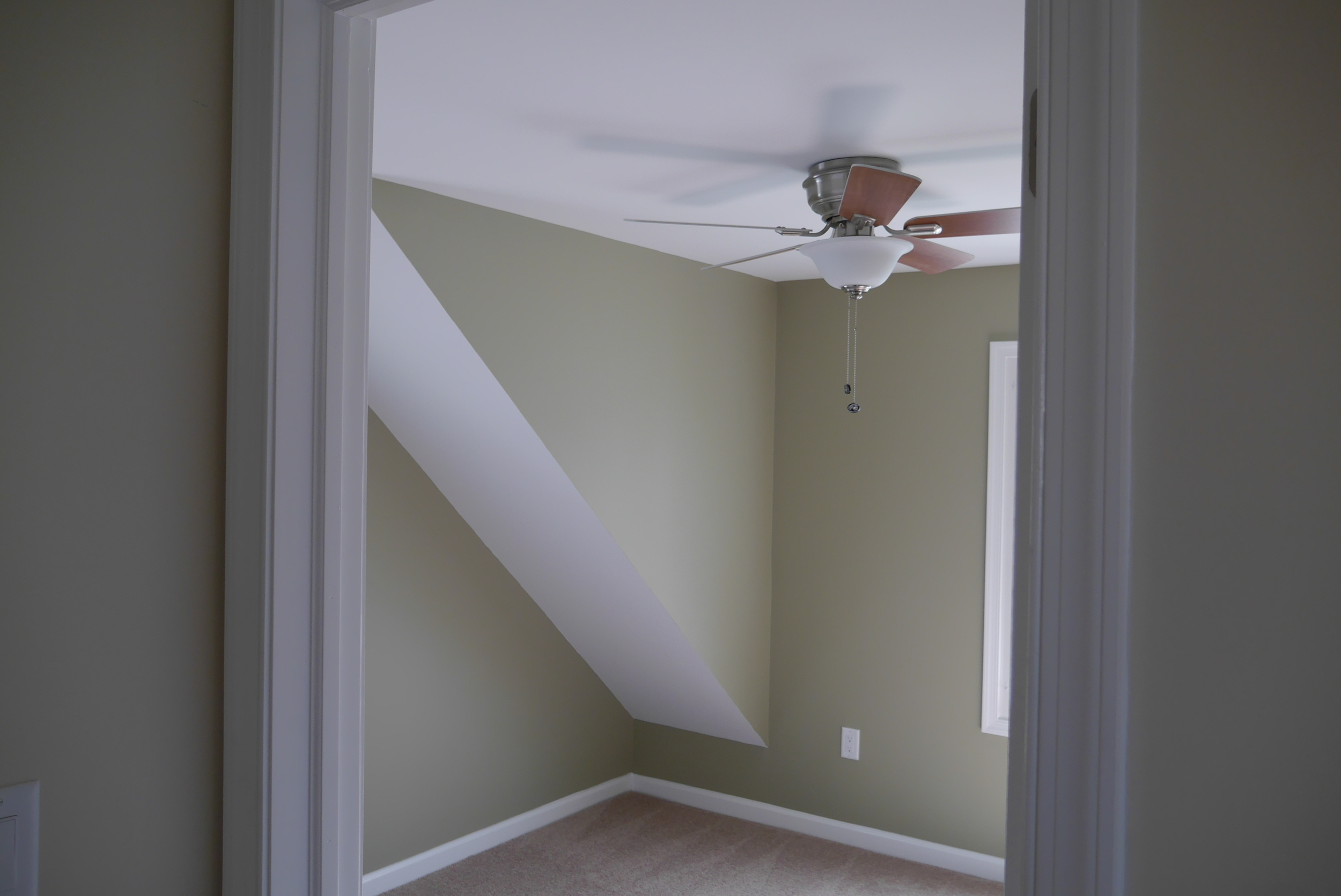 Fire damaged interior after restoration by Groundswell Contracting