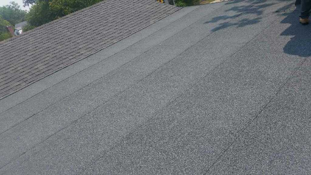 Flat roof after replacement by Groundswell Contracting