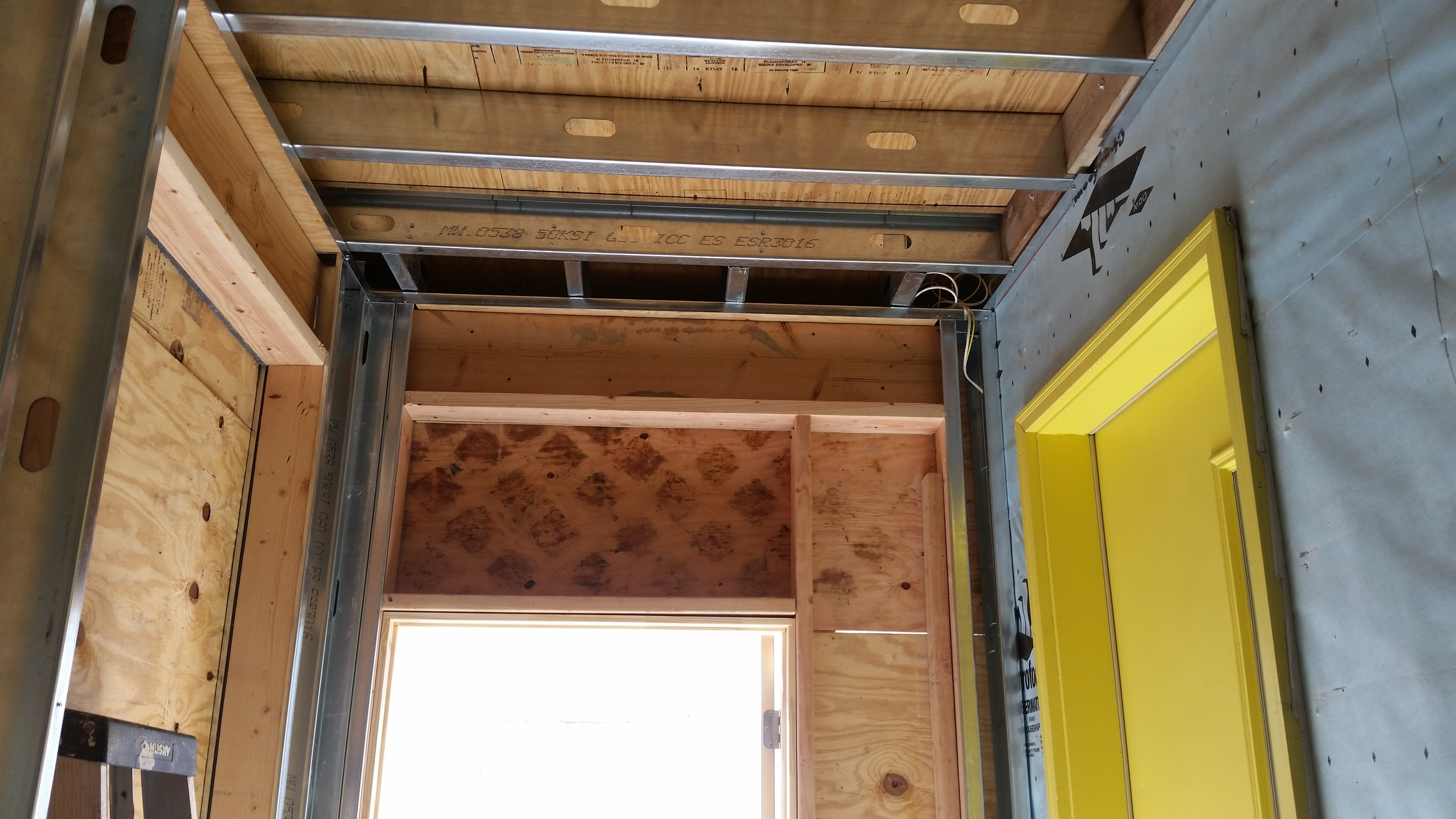 Addition - in progress by Groundswell Contracting