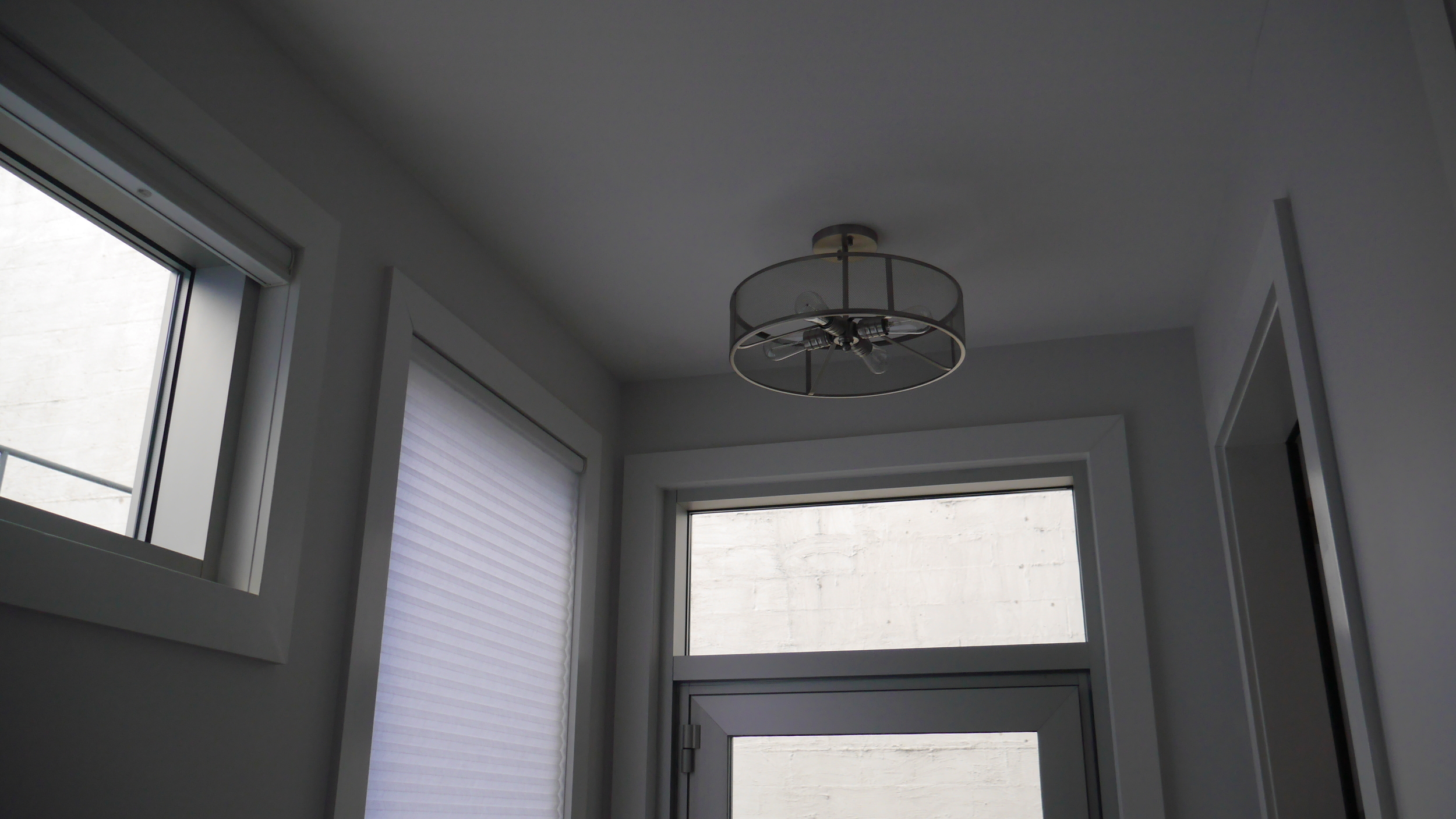 Interior finishes. Installation by Groundswell Contracting