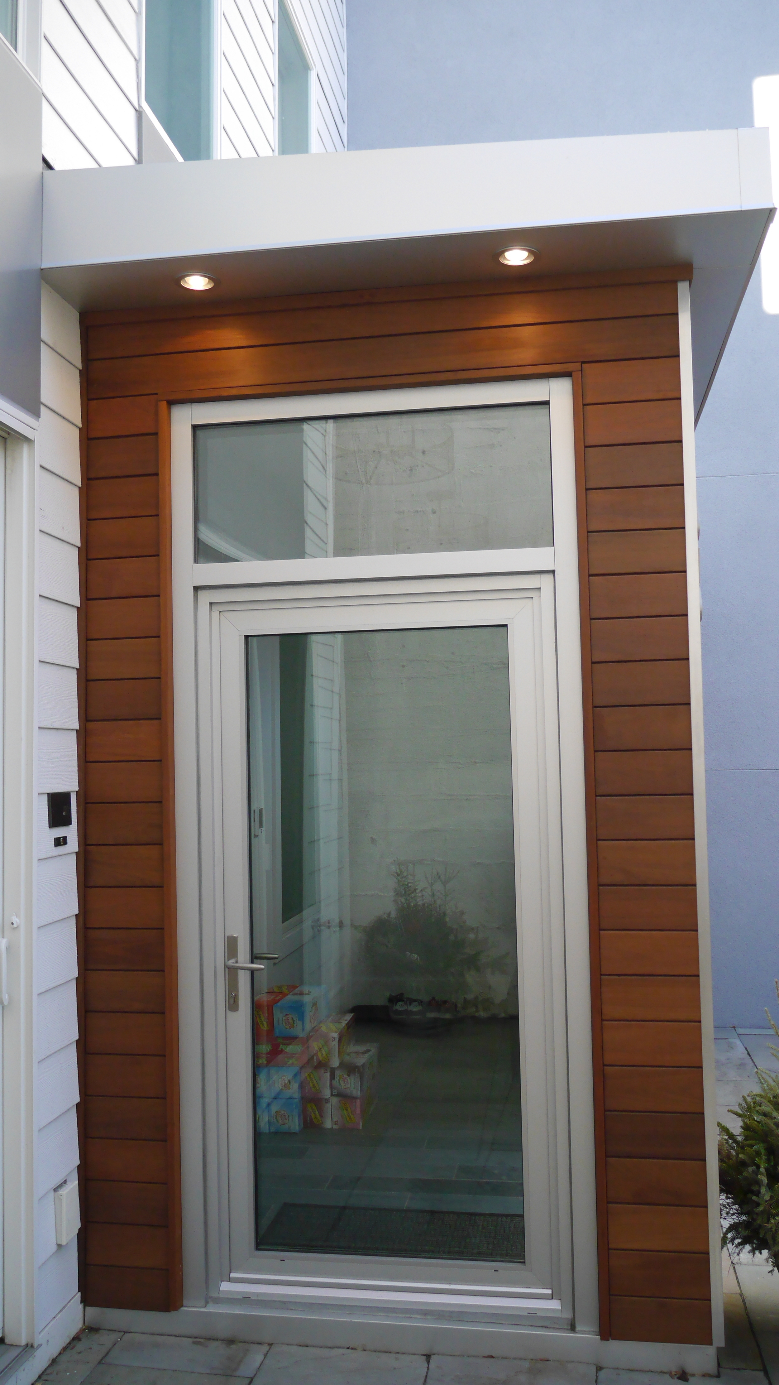 Mataverge Ipe Siding installation by Groundswell Contracting