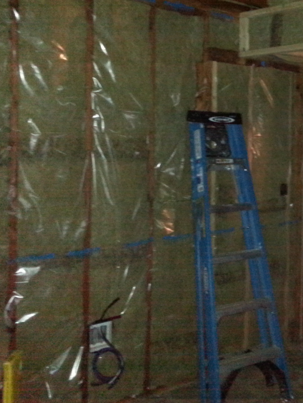 Maximize R-value and air seal tight. Using Roxul insulation we were able to maximize the R-value in the existing 2x4 cavity with the added benefit of implementing non-combustible insulation. With the installation of a smart vapor barrier we created an effective air barrier with exceptional air sealing results,