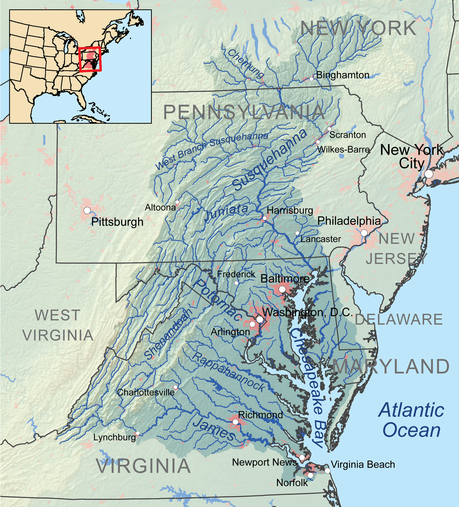 Map Courtesy of Karl Musser, author, published on Wikipedia