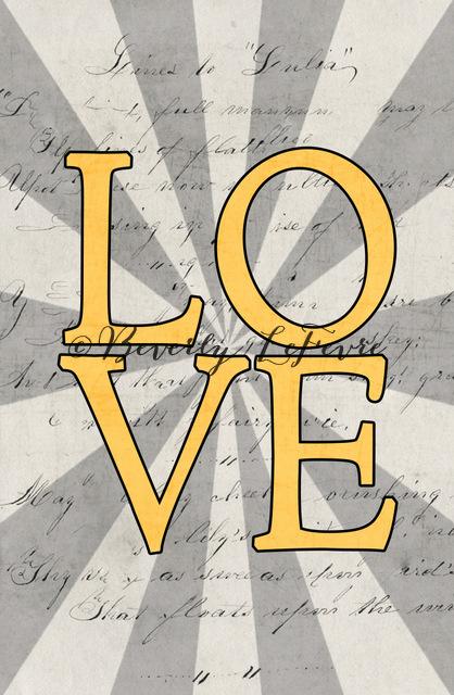 love - yellow