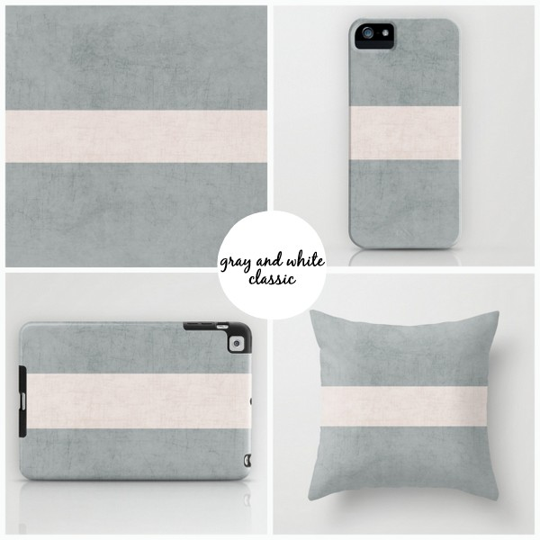 gray and white classic