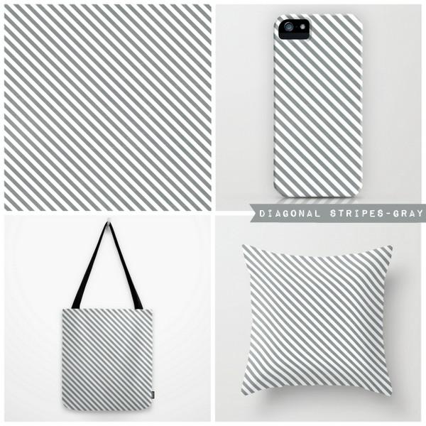 diagonal stripes-gray