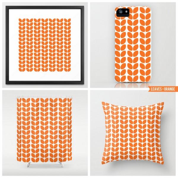 leaves - orange