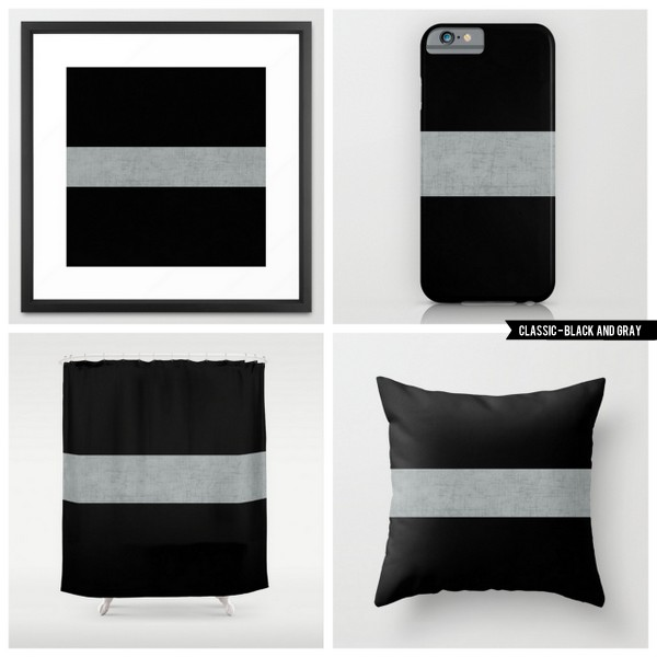 classic - black and gray