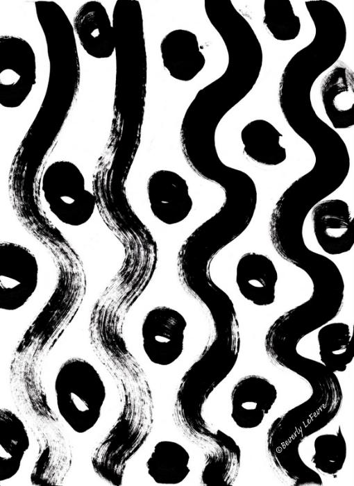 circles and waves