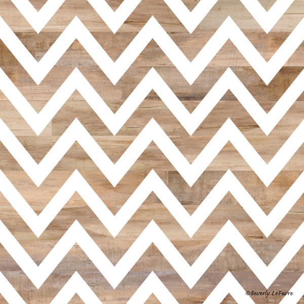 woodgrain chevron
