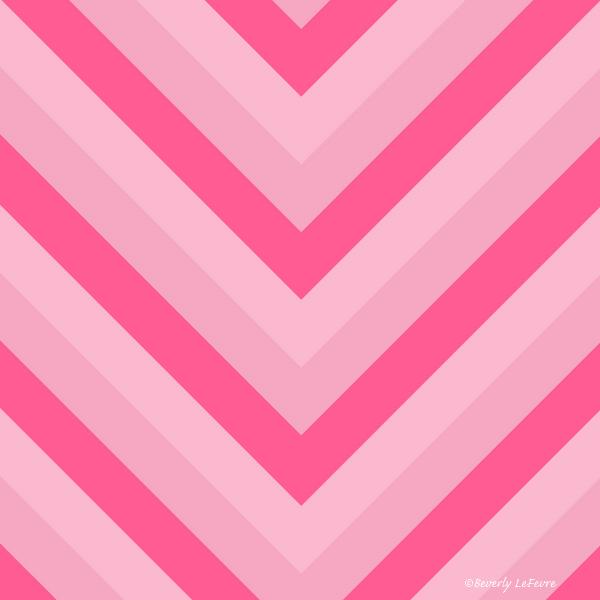 v lines - rose