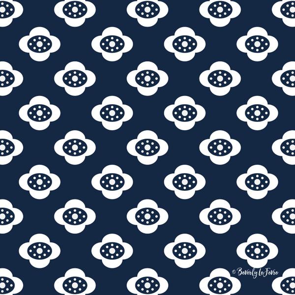 flower joy new floral pattern