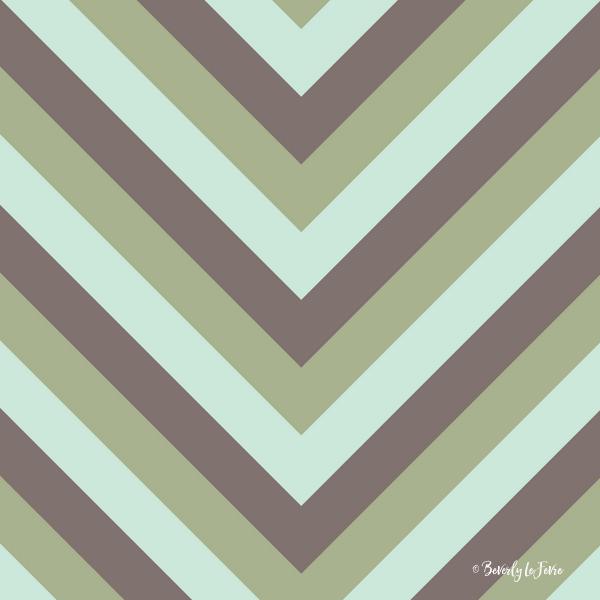 v lines Olive