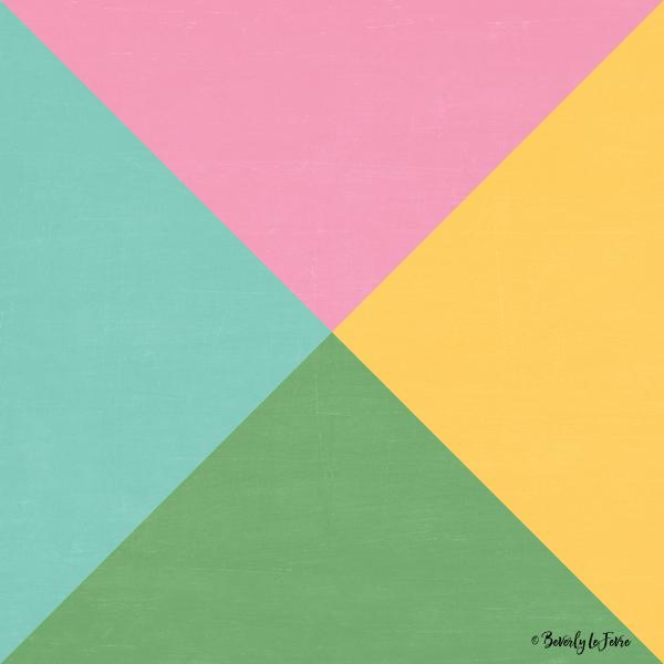 four triangles - spring