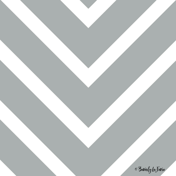 v lines wide - gray and white print