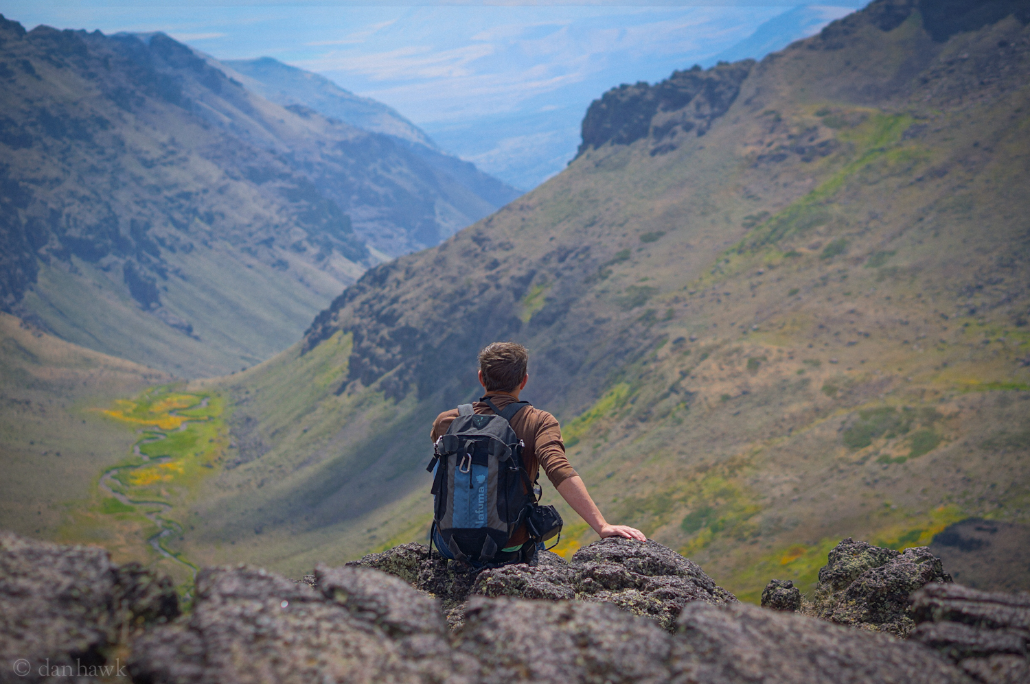 To The Distance | Aaron Courter, Wildhorse Gorge, Steens Mts.