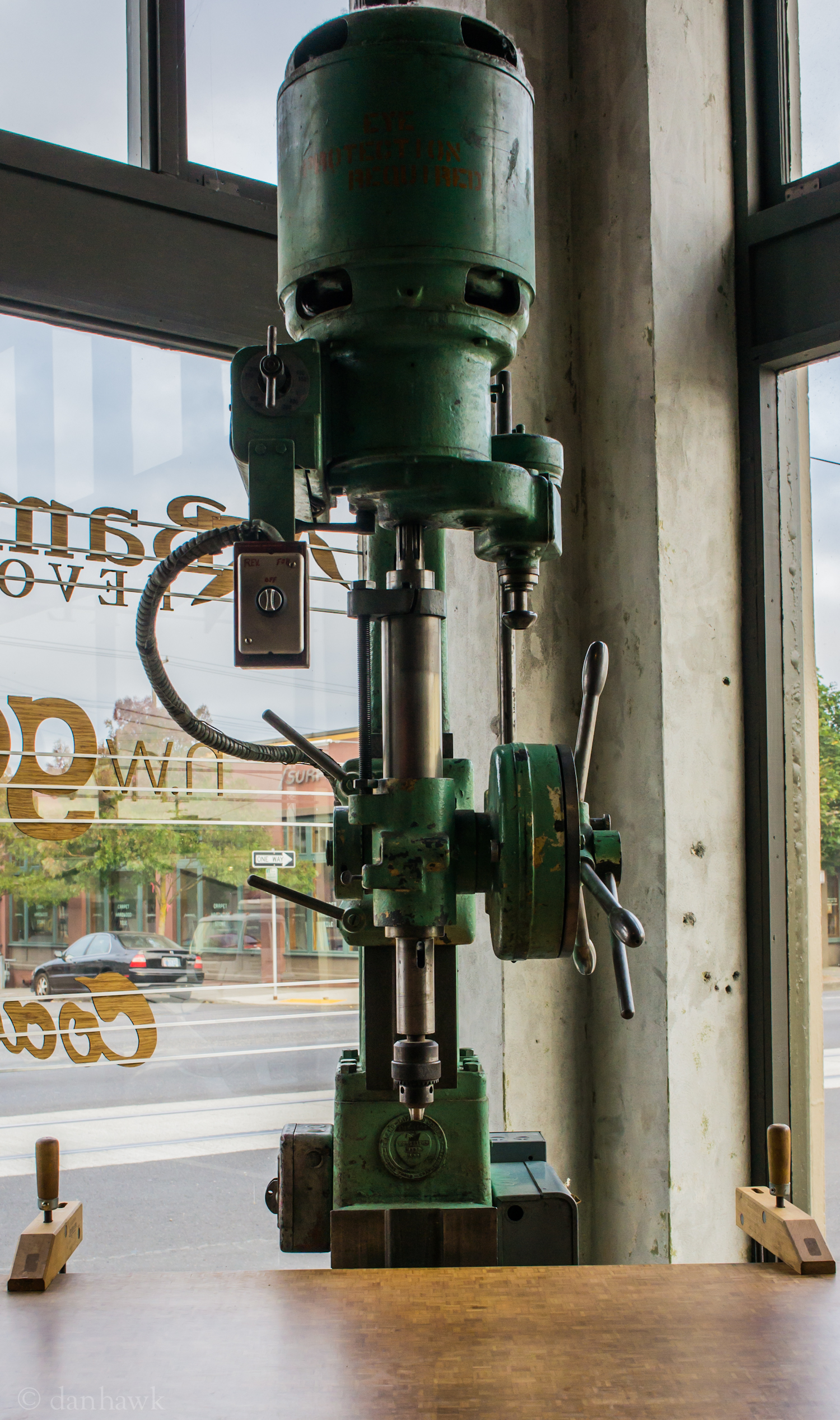 Drill Press | 365 Project | Oct 2nd, 2012 | Coava Coffee Roasters
