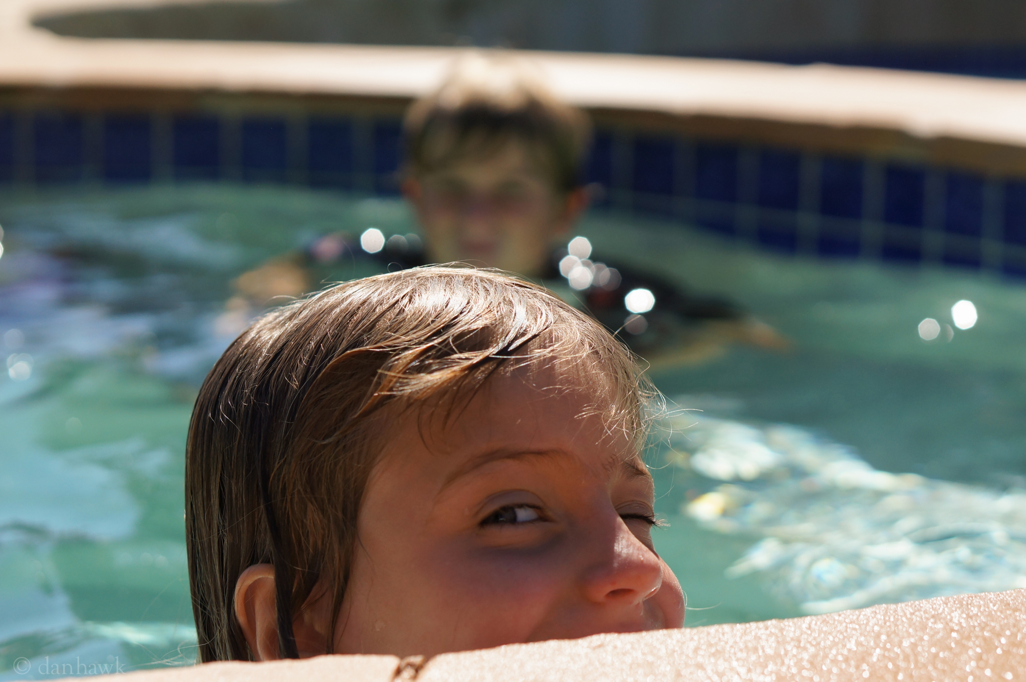 I'm In the Pool! | 365 Project | October 16th, 2012