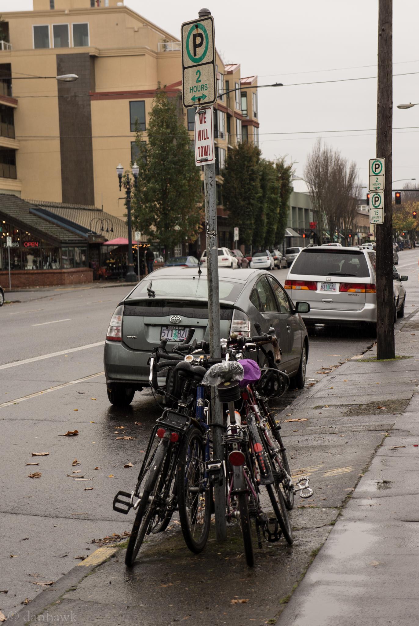 Bike Rack | 365 Project | Nov 11th, 2012