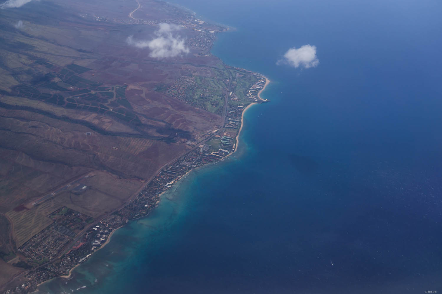 Ka'anapali From the Air | 365 Project | April 25th, 2013 | 35mm, ISO 200, f/4, 1/2500