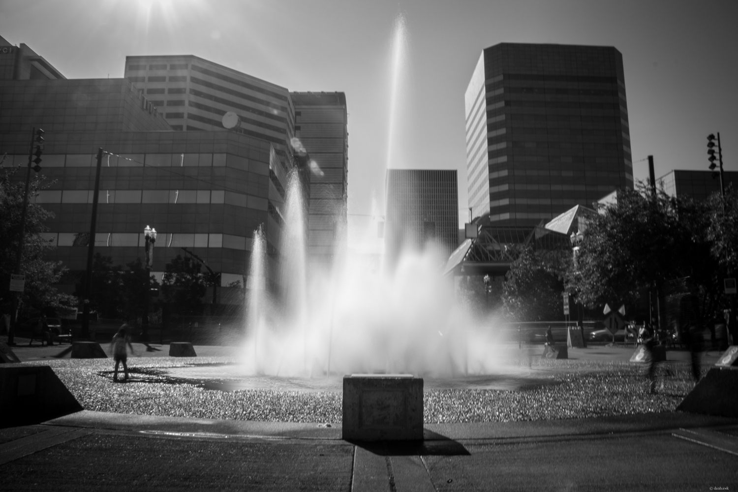 Waterfront Park Fountain | 365 Project | June 3rd, 2013 | 18mm, f/22, ISO 100, 1 sec, Variable Neutral Density Filter