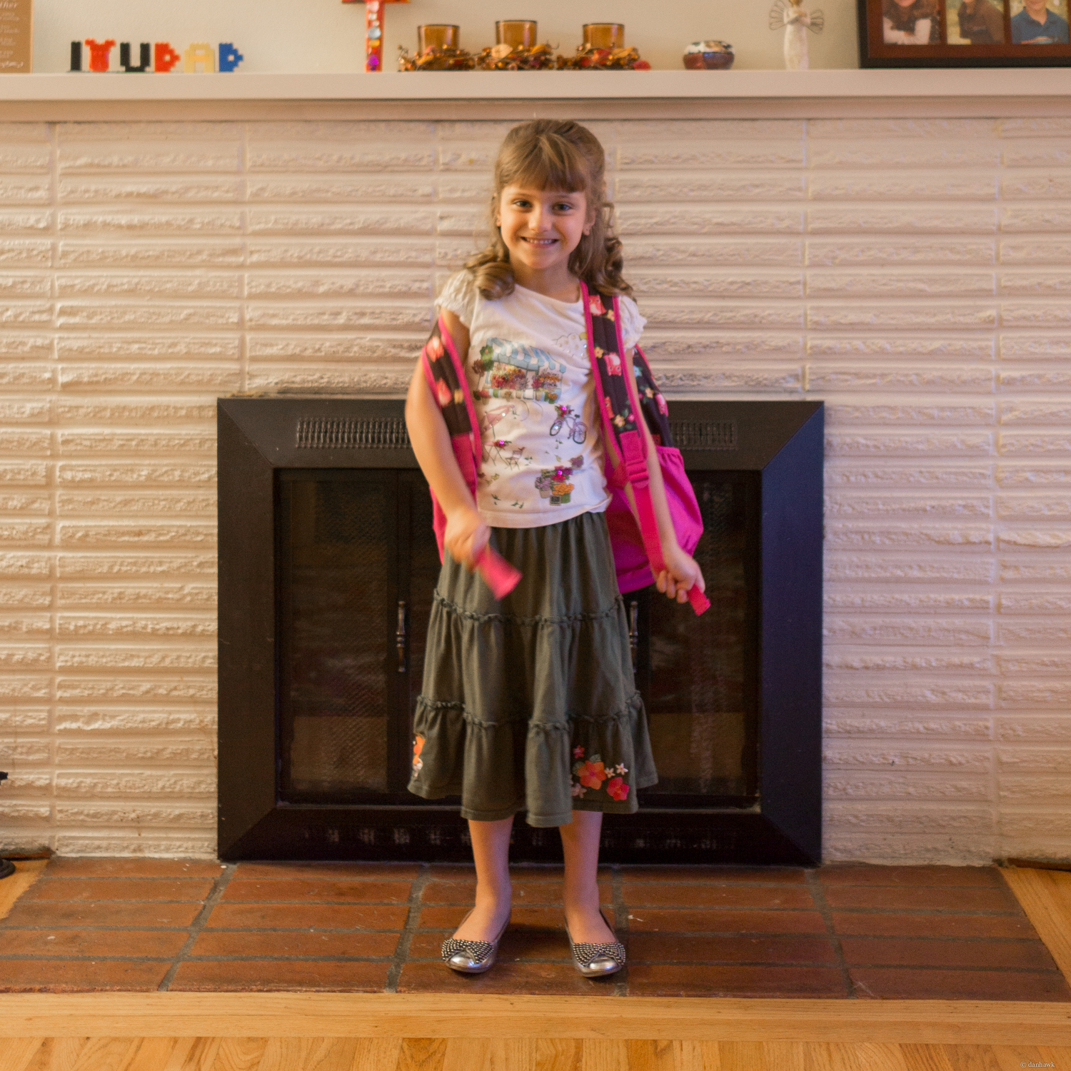 Aisy's First Day of Kindergarten | 365 Project | September 10th, 2013