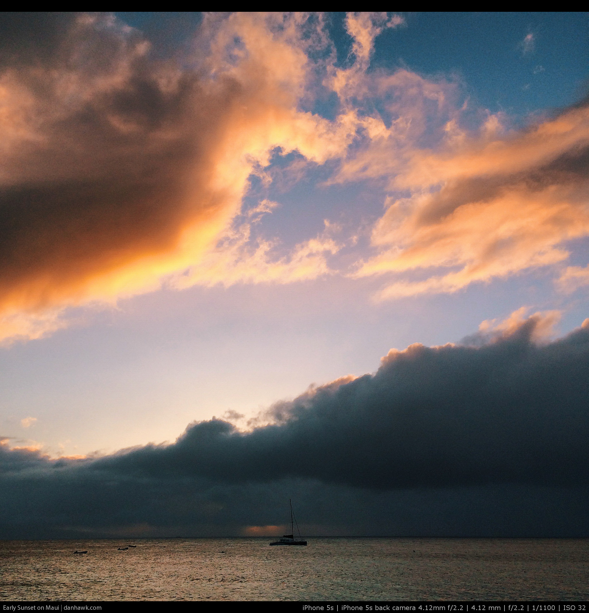 Early Sunset on Maui