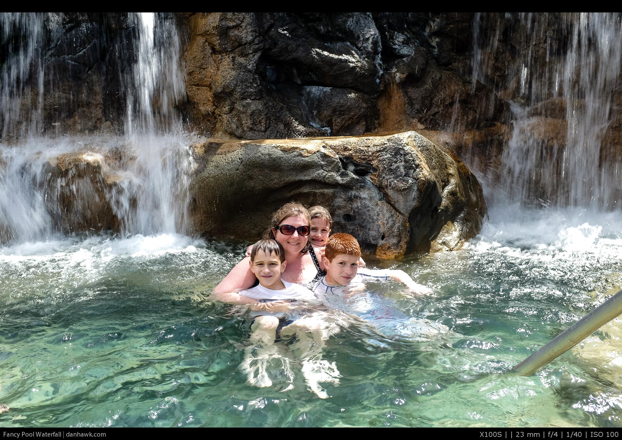 Fancy Pool Waterfall