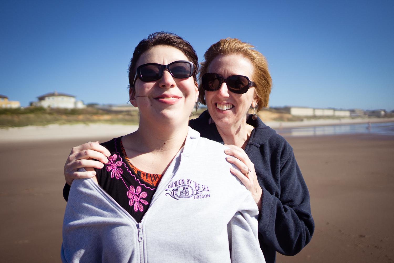 Hailee and Sally Beach