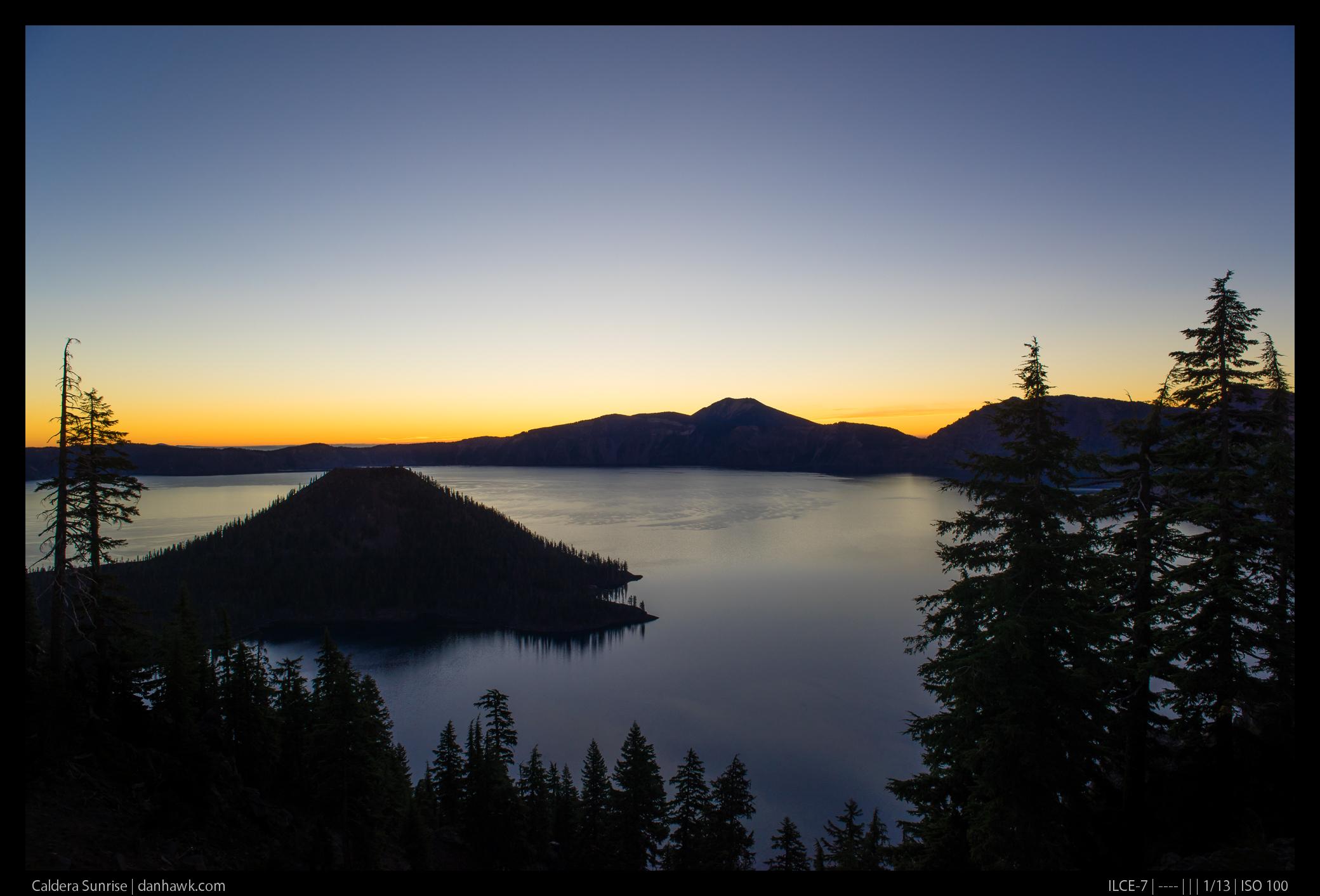 Caldera Sunrise