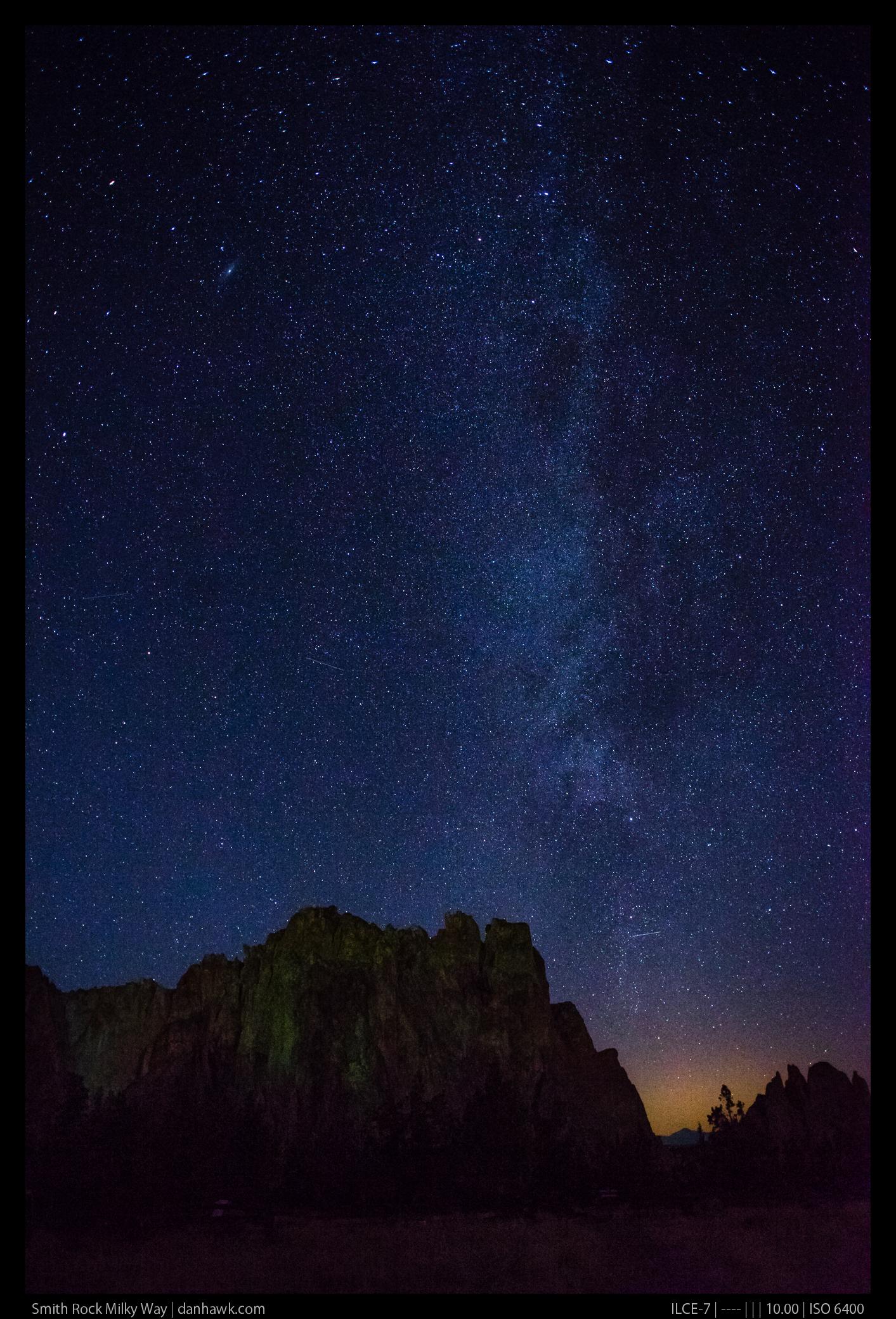 Smith Rock Milky Way