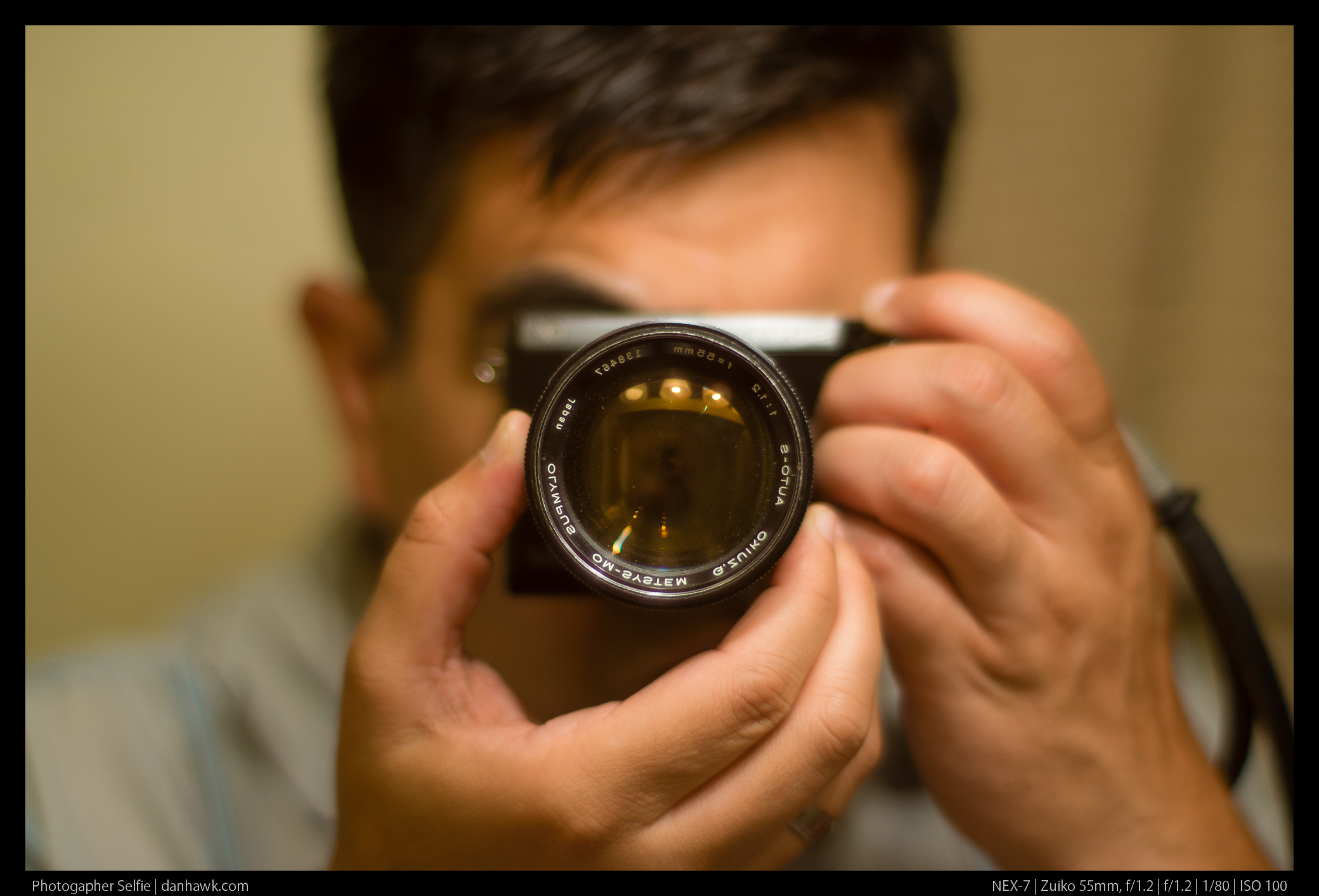 Photogapher Selfie