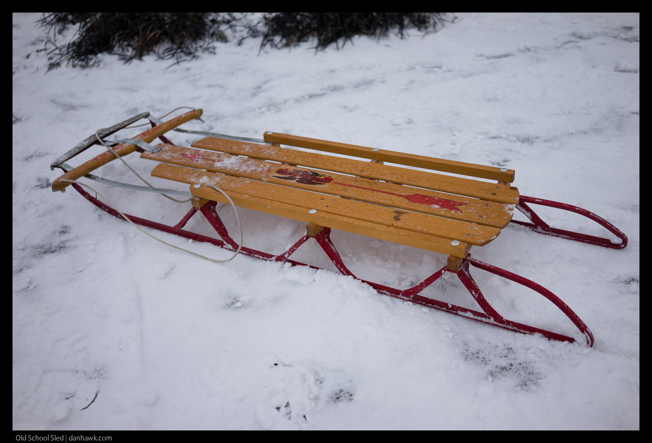 Old School Sled
