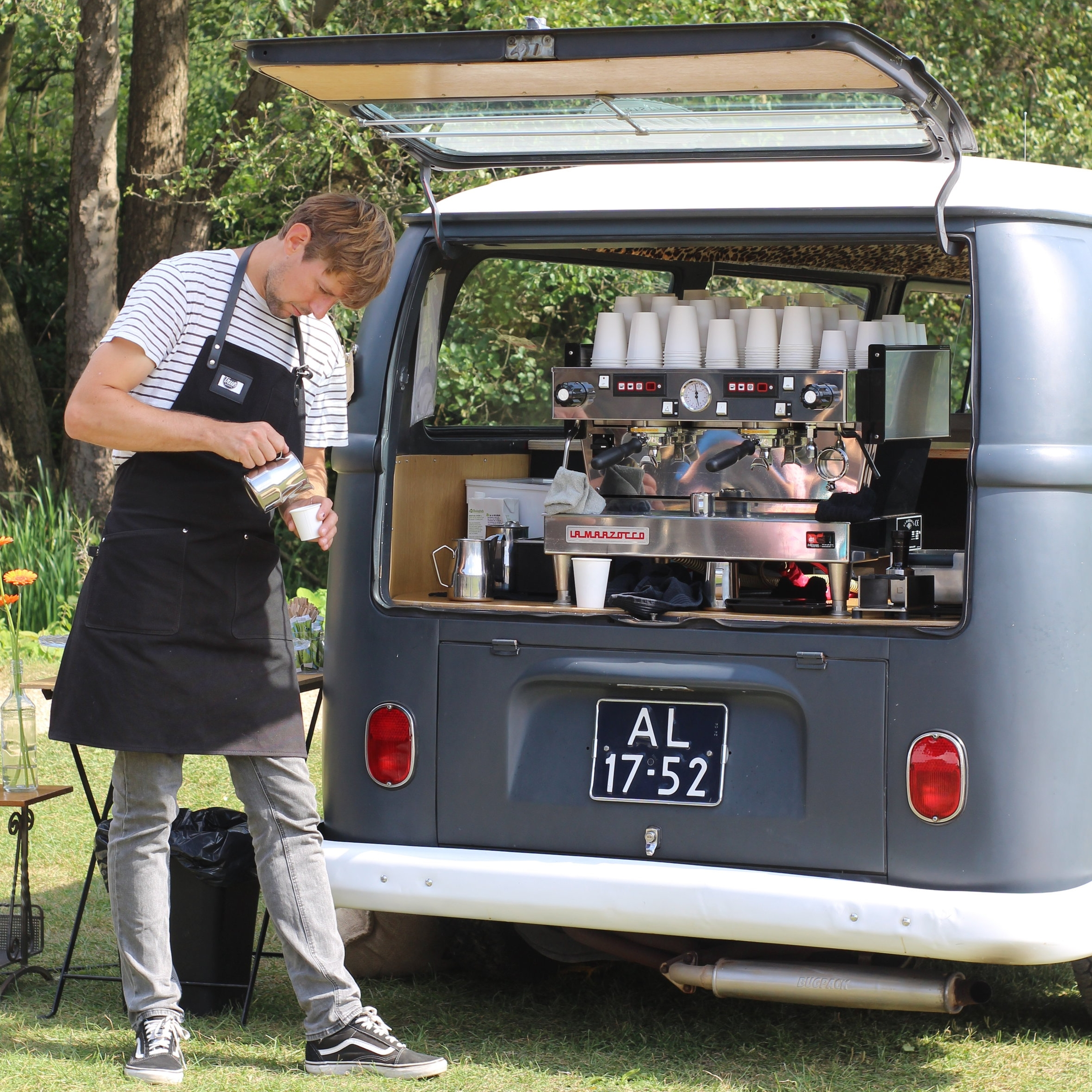 True Barista koffie bus