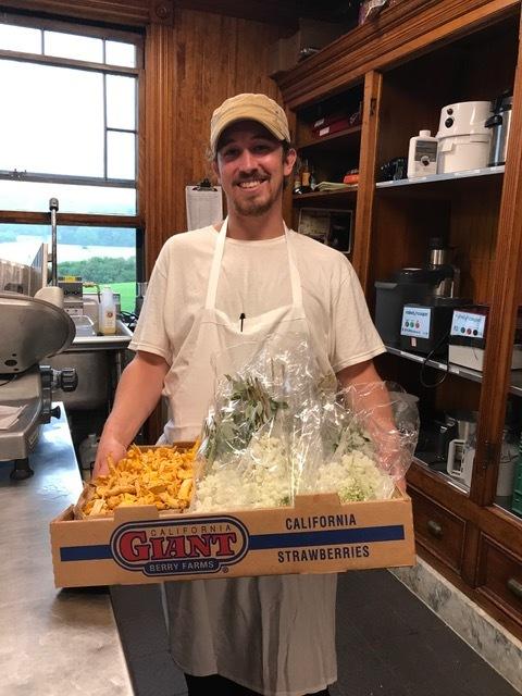 Chef Aaron Shapiro, Shelburne Farms