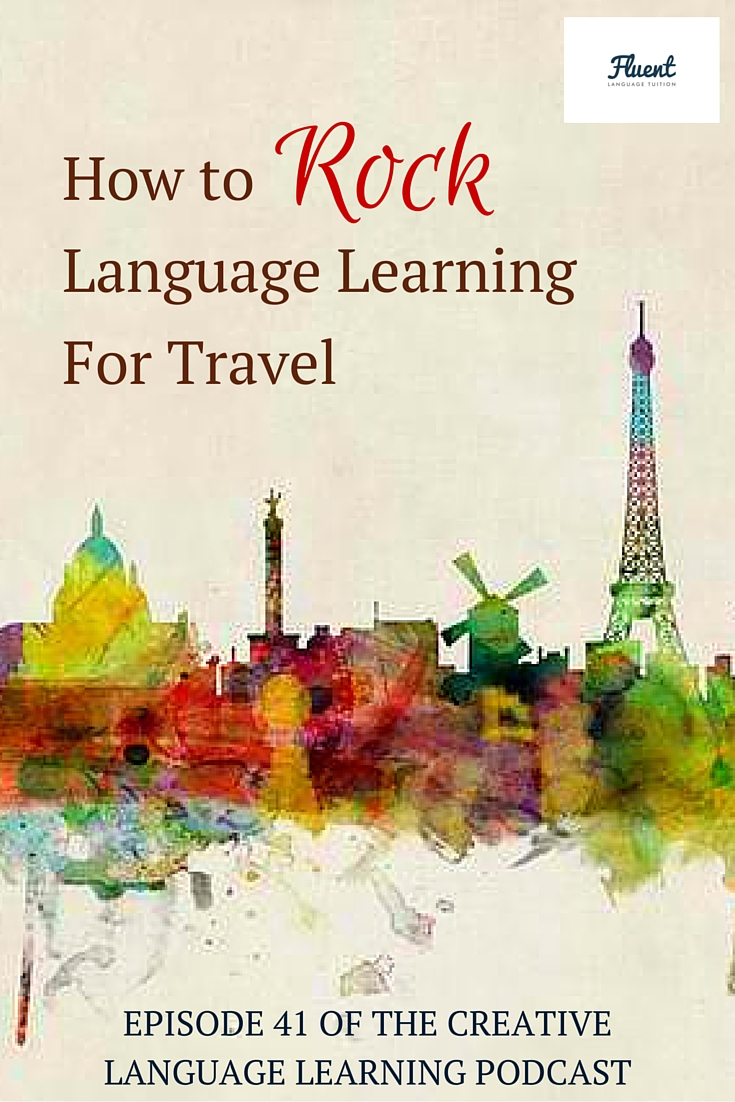 language learning travel