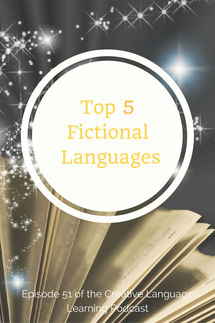 top 5 fictional languages