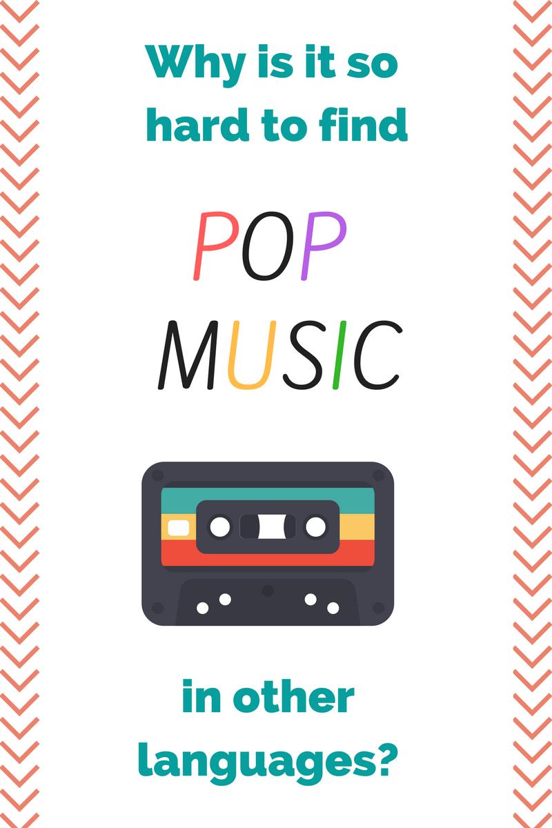 languages pop music