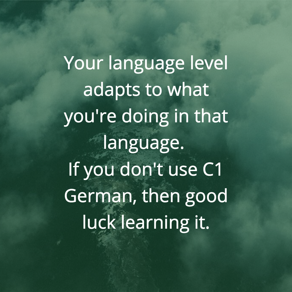 language learning quote- judith meyer